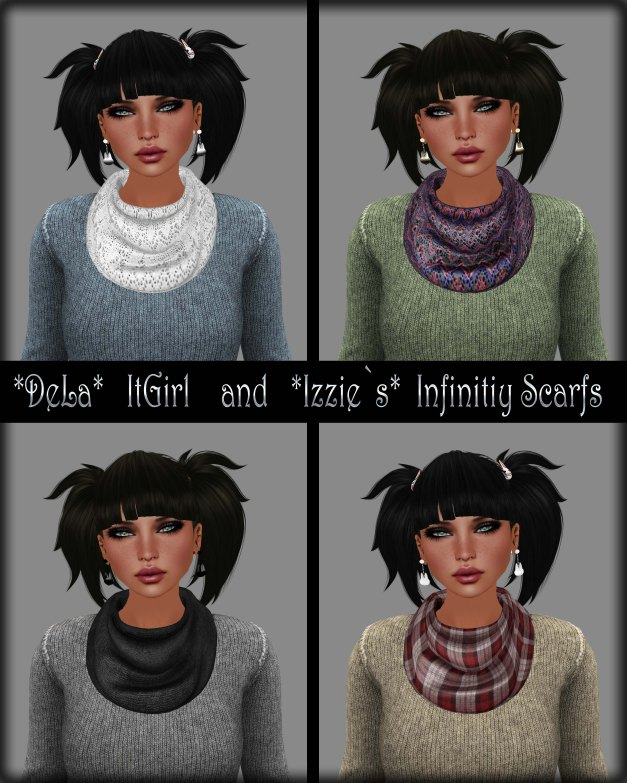 Dela - ItGirl and Izzie's - Infinity Scarf