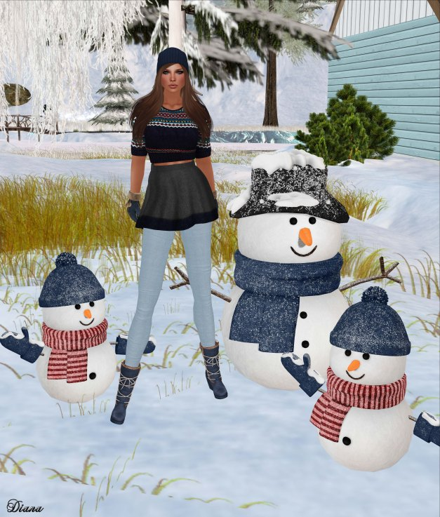 GizzA - Nordic Outfit - Blue-Grey
