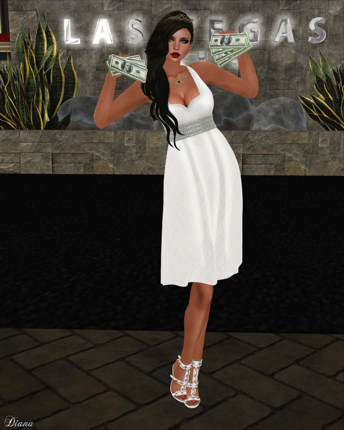 !Rebel Hope - My Attic Mesh Dress White