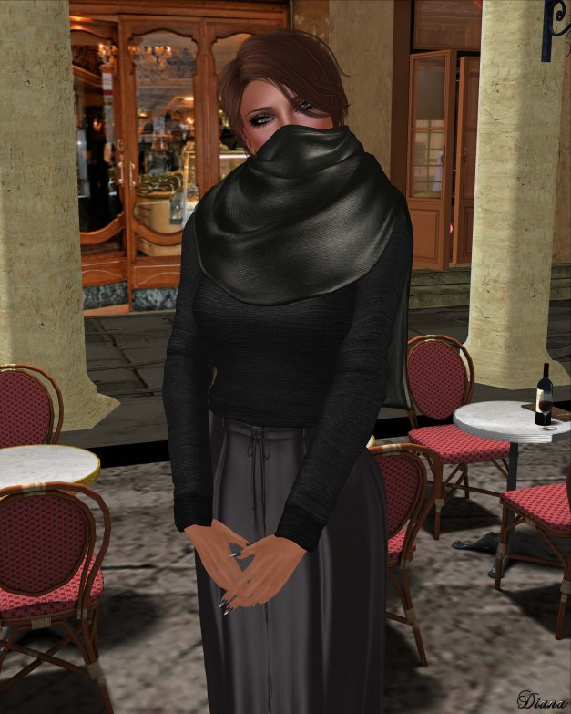 Baiastice - Stef Sweater,Hill Trousers,Emma Scarf charcoal