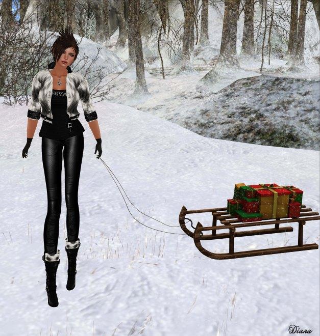 Immerschoen-BodyCult - Mesh Casual Fur Outfit Iwana-1