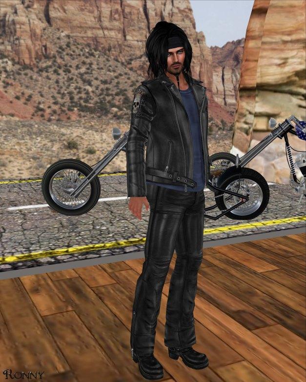 Lapointe & Bastchild - Death Royale Urban Biker Jacket-1