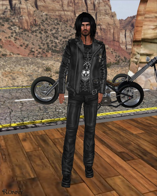 Lapointe & Bastchild - Death Royale Urban Biker Jacket-2