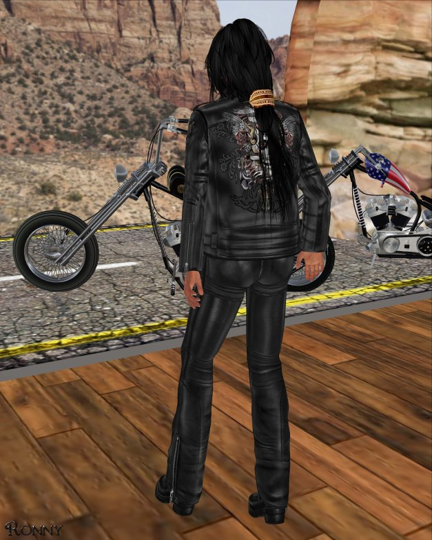 Lapointe & Bastchild - Death Royale Urban Biker Jacket-3