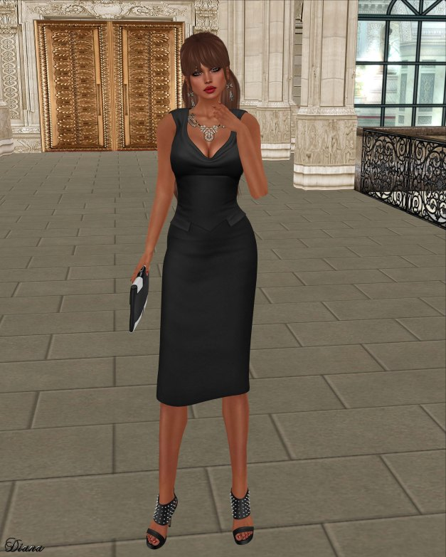League - Yve Pencil Dress-1