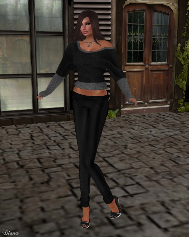 Xplosion - Boinka Batwing Top Fitted Mesh (BlackSilver)-2