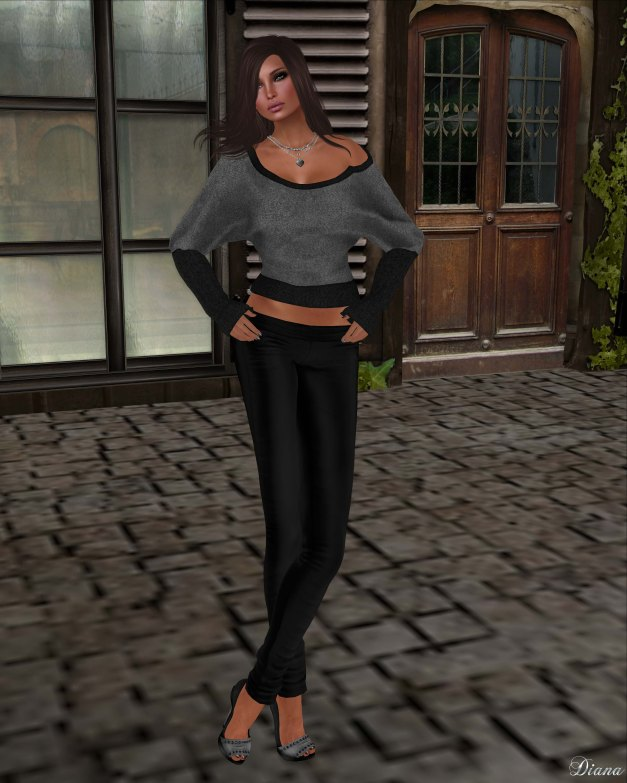 Xplosion - Boinka Batwing Top Fitted Mesh (BlackSilver)-4