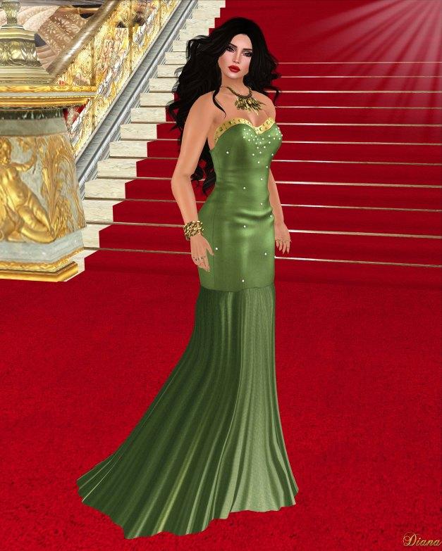 Baiastice - Ayla Dress-Green