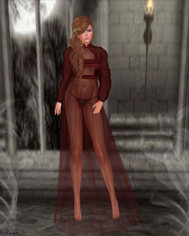 Baiastice - Kristine Dress Red