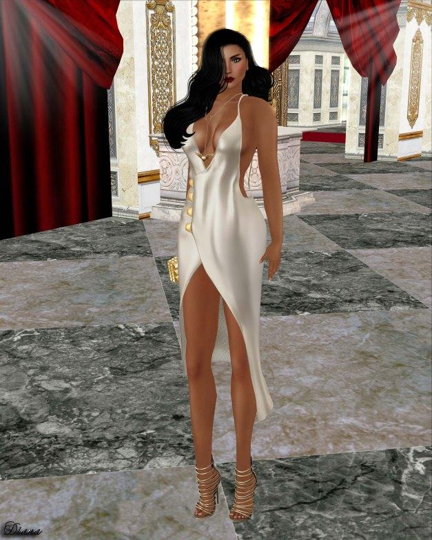 Baiastice - Sonia Dress Pearl