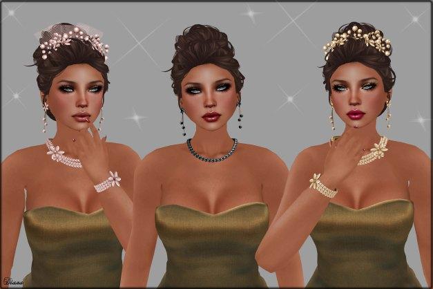 Izzie's - Qopi Skin and Pearl Romance Jewelry All Set