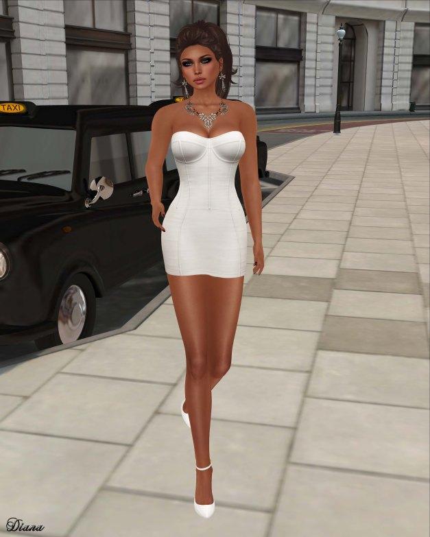 Maitreya - Vixen Dress Ivory