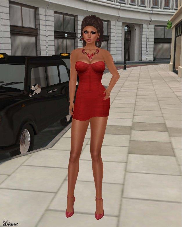 Maitreya - Vixen Dress Red