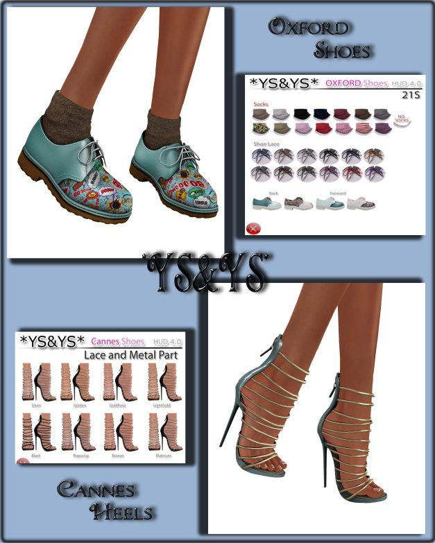 YS&YS - Oxford Shoes and Cannes Heels