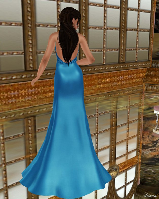 Baiastice - Karin Dress-Azure