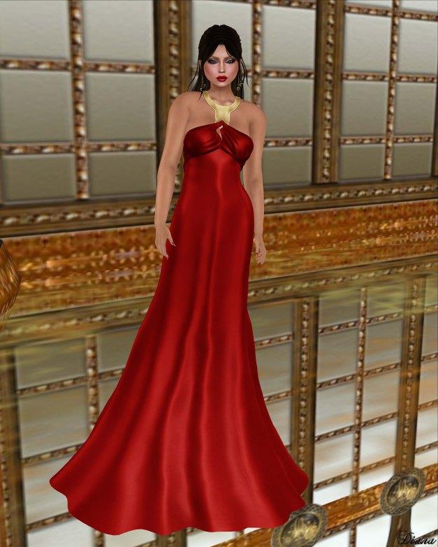 Baiastice - Karin Dress-Red