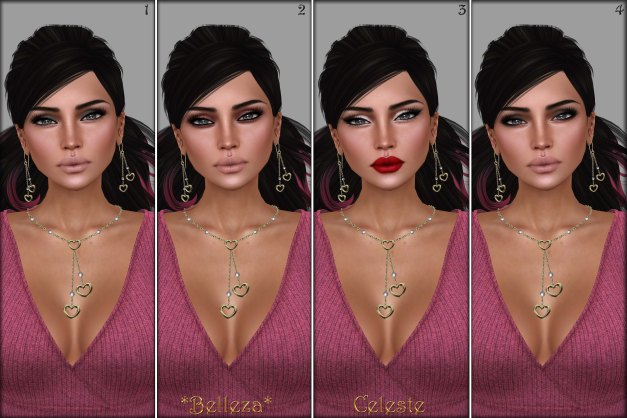 Belleza - Celeste TLC 1-4