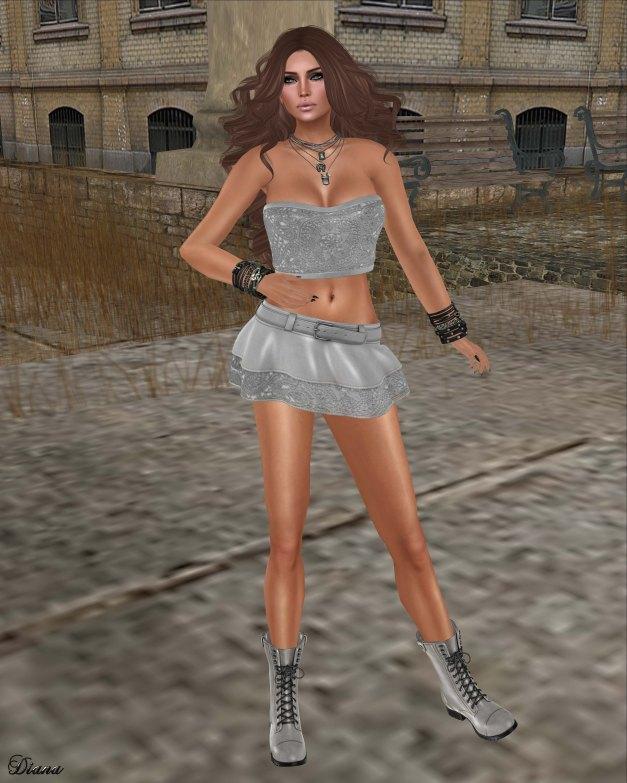 Eudora 3D - Mabelle Set Silver