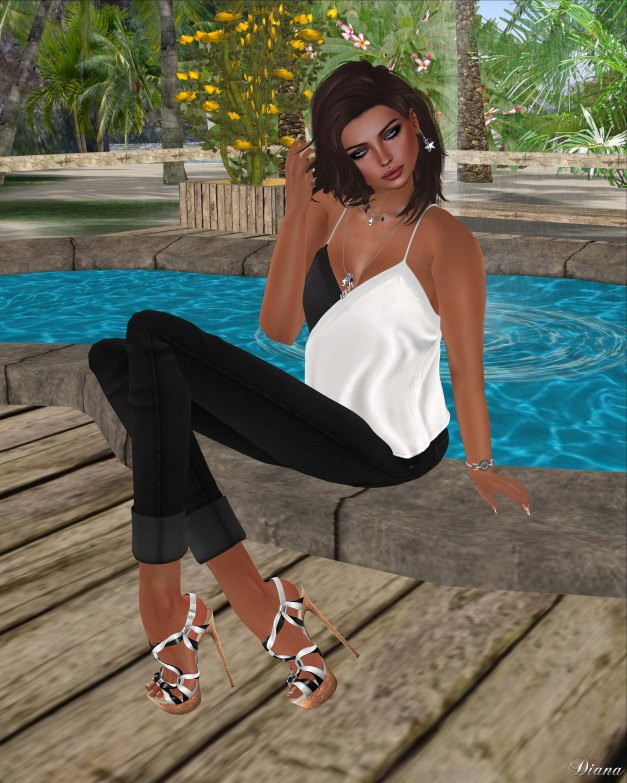 Blueberry - Avela Tank Top and N-core - Knotted-2