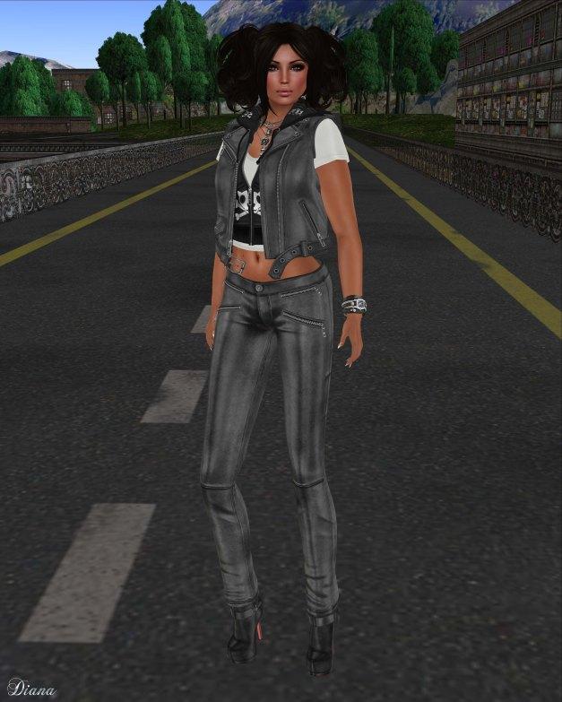 Lapointe & Bastchild - Swear Urban Biker Vest w Hoodie-1