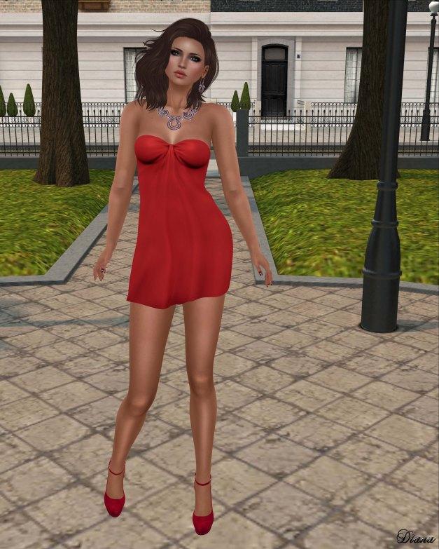 Maitreya - Zene Dress Red