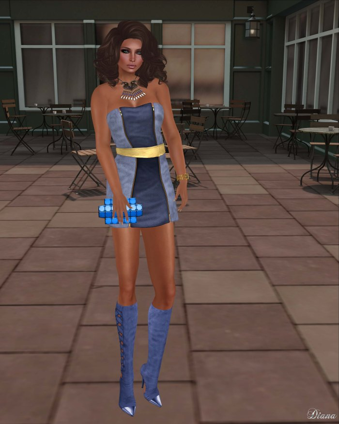 Baiastice - Damie Zip Dress-Aero
