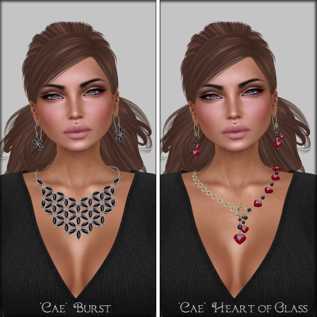 Belleza - Brooke and Cae - Burst and Heart of Glass