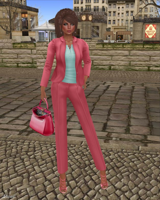 coldLogic - jacket jaques pink and pant 151 jesse pink