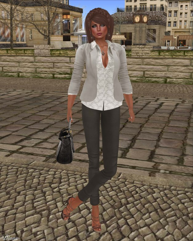 coldLogic - jacket theissen linen and pant 151 traux java