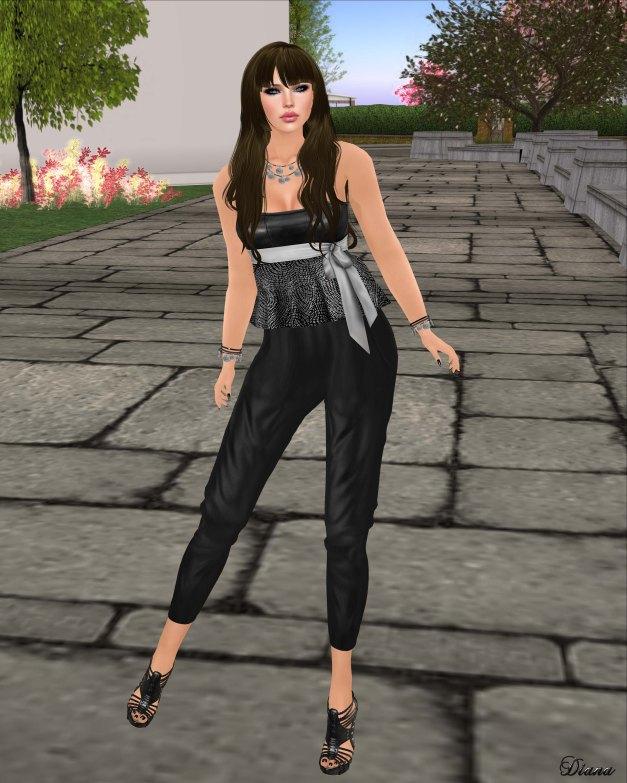 GizzA - Melanie Outfit Monochroma