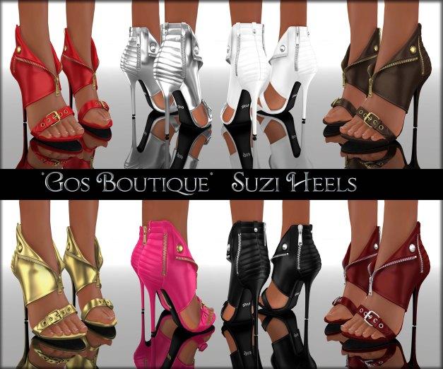Gos Boutique - Suzi Heels
