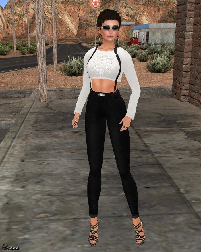 Yasum - Hippi Jeans Leggings-1