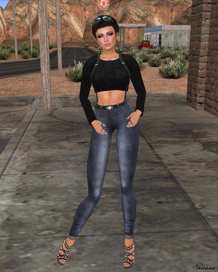 Yasum - Hippi Jeans Leggings-2