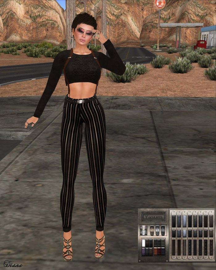 Yasum - Hippi Jeans Leggings-3