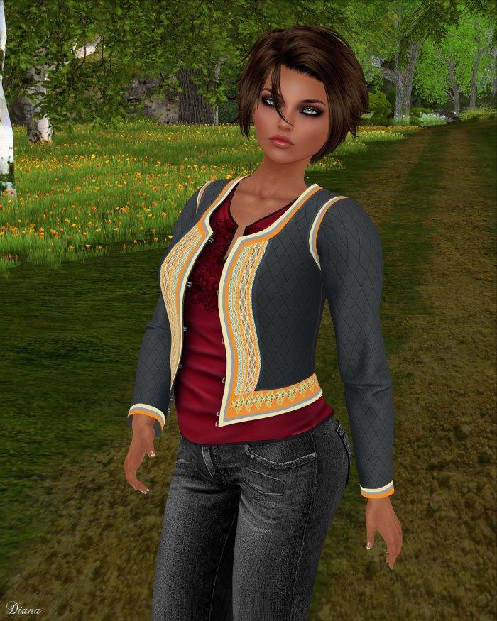 Addams - Rapsodia Jacket w shirt-2