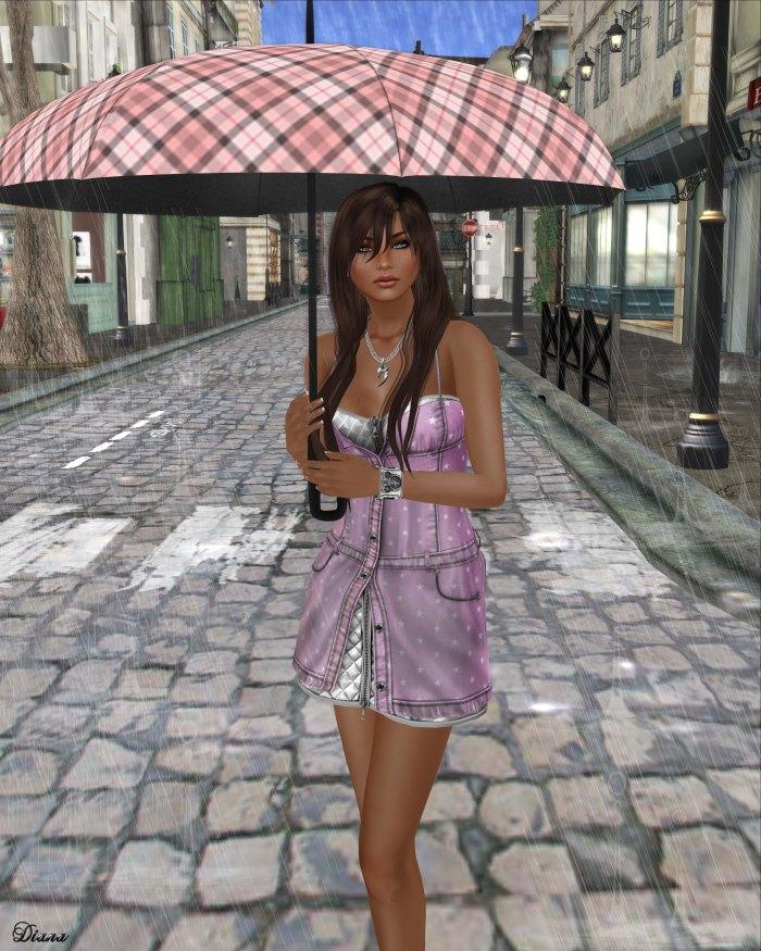 Gabriel - Maria Denim Dress Pink