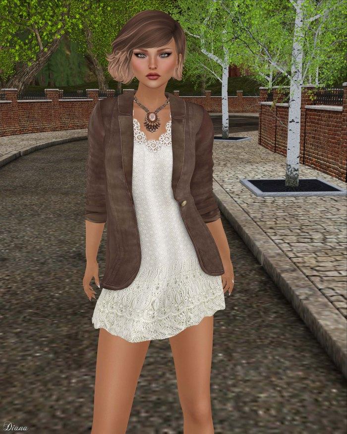 GizzA - Cathy Blazer Dress Smoke