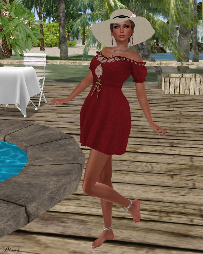 !Rebel Hope - So Beachy Mesh Dress-2
