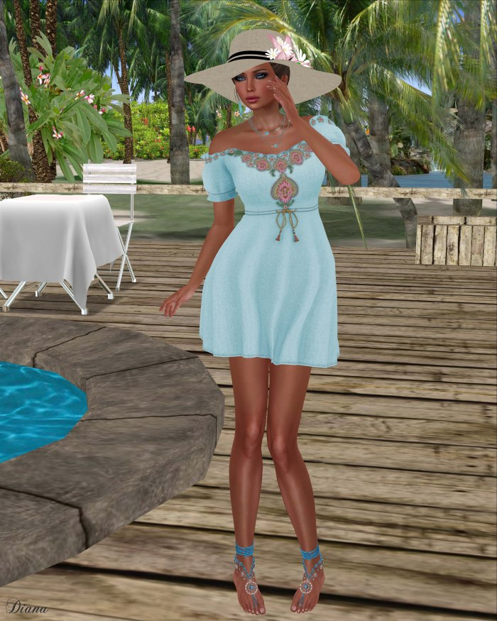 !Rebel Hope - So Beachy Mesh Dress-3