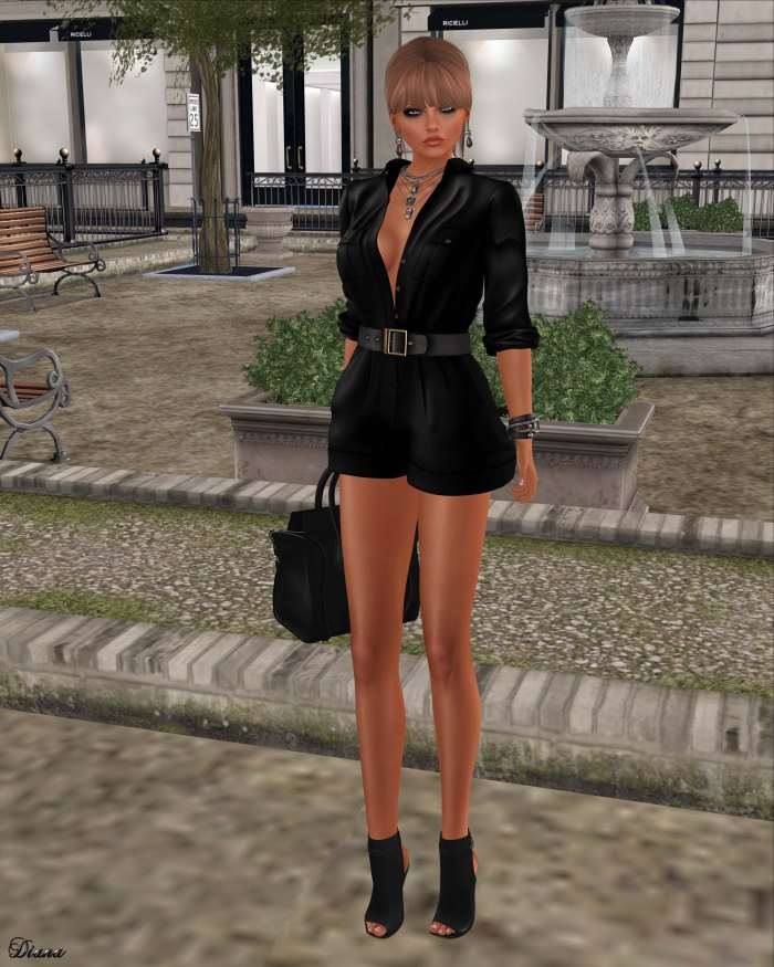 Ricielli - Kenya Jumpsuit Black