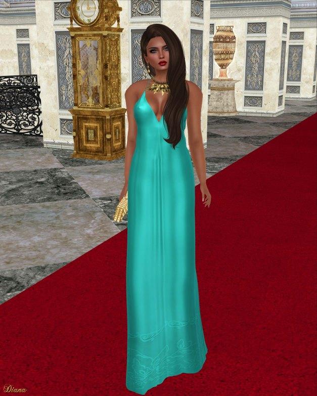 Baiastice - Aimee Dress-Turquoise