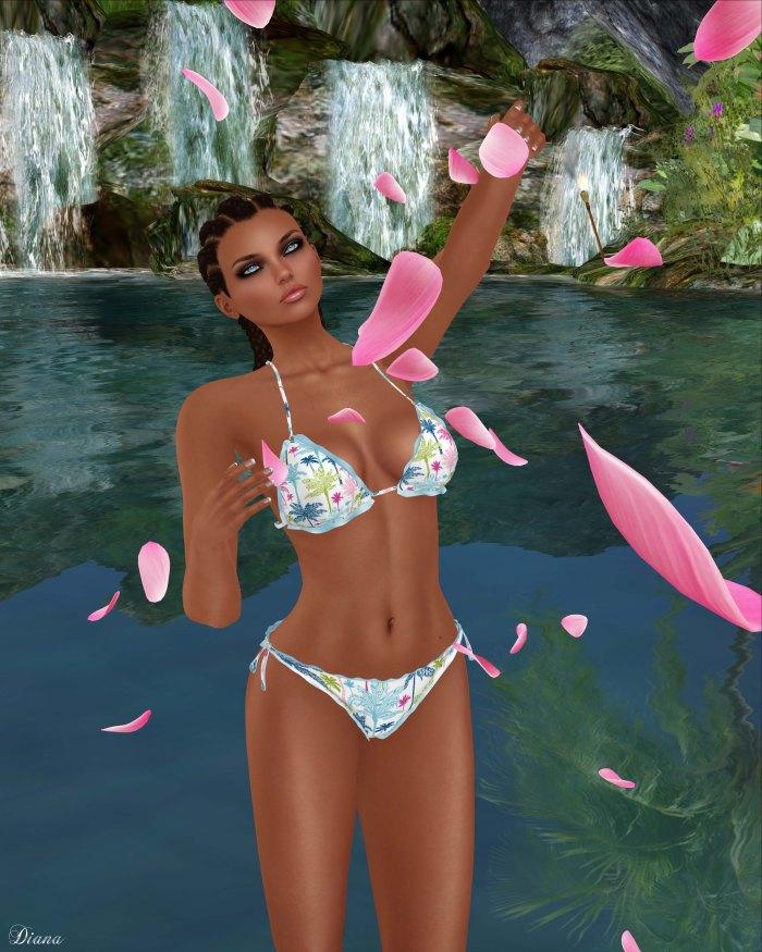 Baiastice - Jade Bikini-Palms