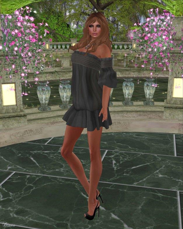 Gabriel - Clara Dress Black