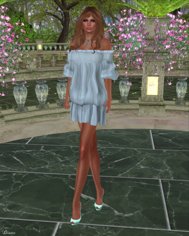 Gabriel - Clara Dress Lightblue