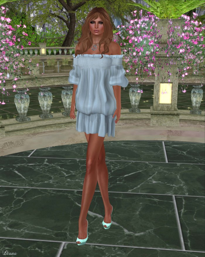 Gabriel - Clara Dress Lightblue