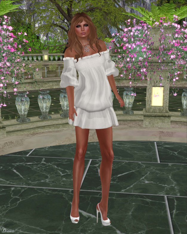 Gabriel - Clara Dress Offwhite