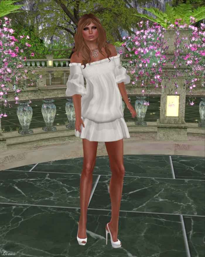 Gabriel - Clara Dress Offwhite
