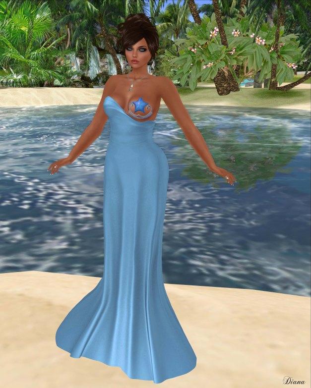 Baiastice - Oceane Dress-Cobalt