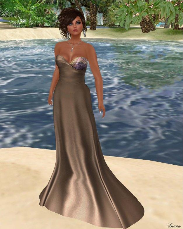 Baiastice - Oceane Dress-Coffee