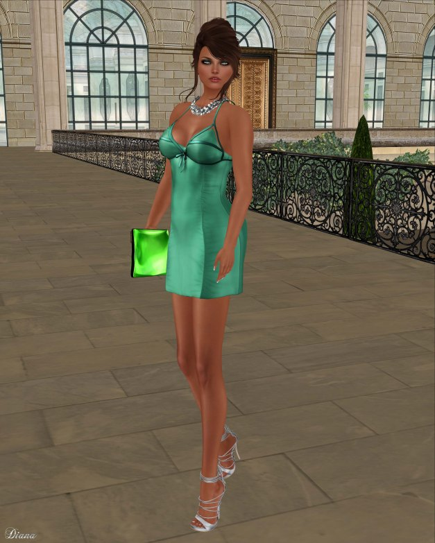Baiastice - Roxette Dress-Emerald